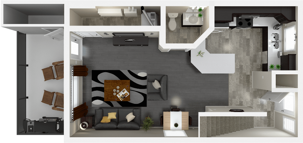 Urban Estates 3 Bedroom Townhouse Floor Plan