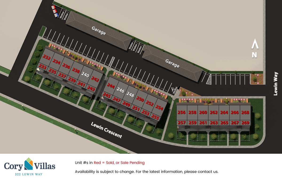 Cory Villas Site Plan